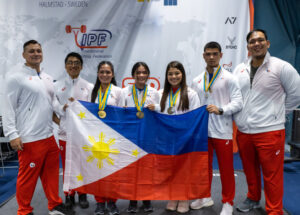 PH team bags 11 medals at 2021 World Classic Powerlifting Championships in Sweden