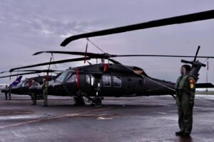 PH Air Force welcome five more Black Hawk helicopters, four new unmanned aerial systems to its fleet