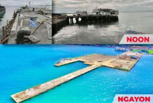 Dilapidated Ubay Port now improved and expanded, DOTr says