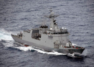 Surface-to-air missiles for Philippine Navy's new warships arrive