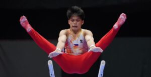 Carlos Yulo up for gold in three events at 2021 FIG Artistic Gymnastics World Championships
